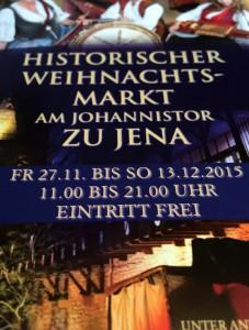 Historischer Weihnachtsmark Jena